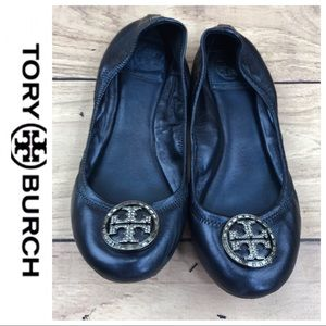 fb60cbac18ef34 Tory Burch Shoes - 💕SALE💕 Tory Burch Navy Diamond Reva Ballet Flats